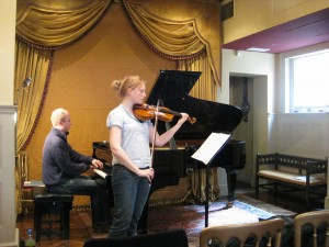 Rehearsal at 1901 Arts Club