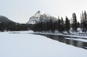 View from Banff Bridge